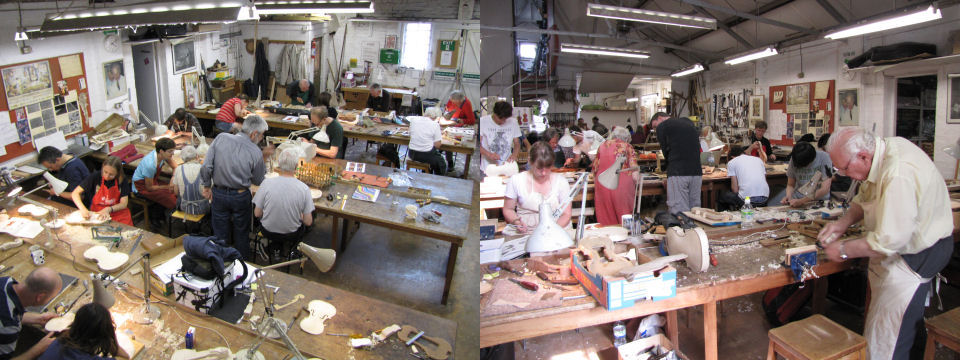 The workshop welcomes makers of all abilities including complete beginners with no woodworking background as well as more experienced amateur makers.